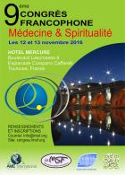 9ème congrès médecine et spiritualité