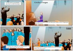 29 – Cécilia à l'orgue